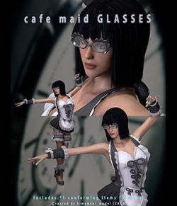 Cafe_Maid_GLASSES for V4 & A4