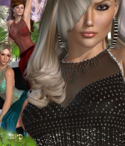 Bejeweled Gown - Mermaids