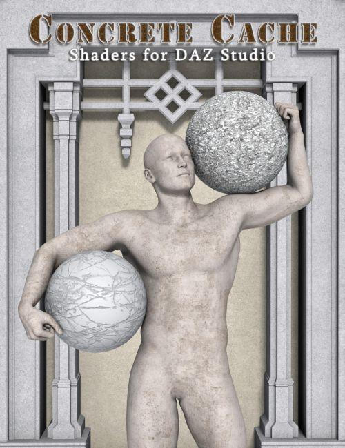Concrete Cache - Shader Presets for DAZ Studio