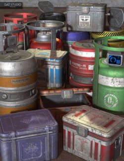 Sci Fi Freight Containers