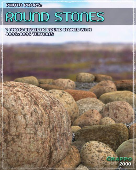 Photo Props: Round Stones