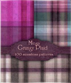 MR- Mega Grungy Plaid