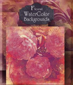 Floral Watercolor Backgrounds