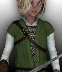 Elven Hero for Genesis 2 Male