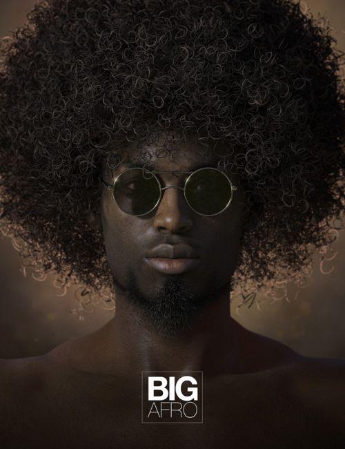 Big Afro Hair for Genesis and Genesis 2