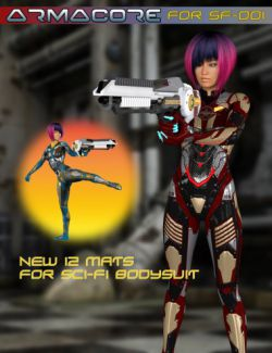 Slide3D Armacore for Sci-Fi Body Suit SF-001