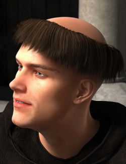 Monks Hair for Genesis 2 Male(s)