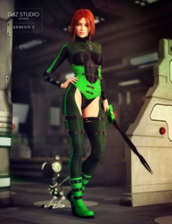 SciFi Enforcer for Genesis 2 Female(s)