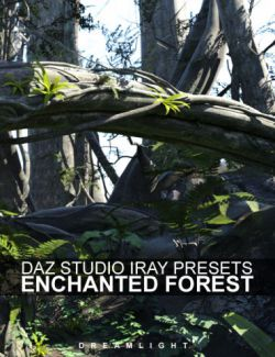 Iray Presets for DS Enchanted Forest