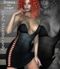 G2F Dateline 1 Dress - DAZ Studio Only
