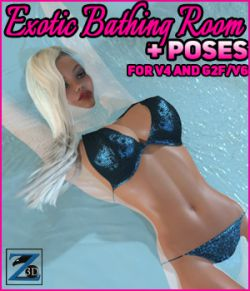 Z Exotic Bathing Room + Poses