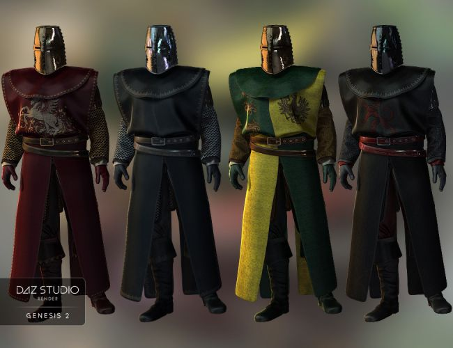 knight guard round table textures 3d models for poser and daz studio