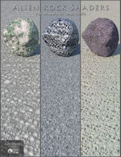 Alien Rock Shaders for DAZ Studio