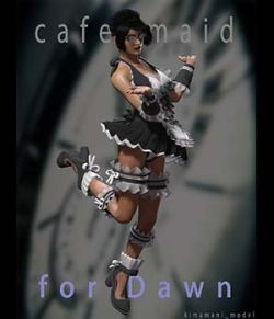 Cafe_Maid for Dawn [POSER]