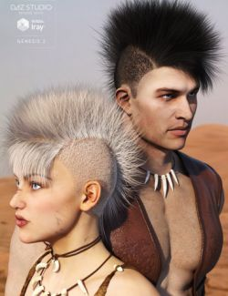 Mad Hair for Genesis 2