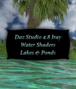 Iray Water Shaders Lakes And Ponds