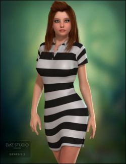 Polo Dress for Genesis 2 Female(s)
