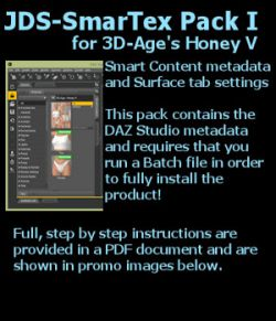 JDS SmarTex Pack 1 for Honey V