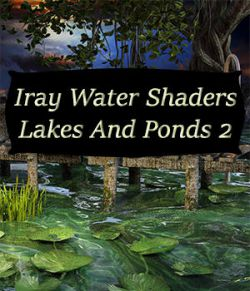 Iray Water Shaders Lakes And Ponds 2
