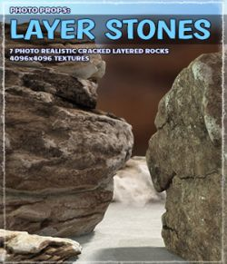 Photo Props: Layer Stones