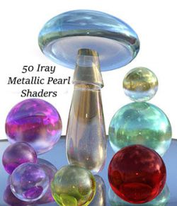 Iray Metallic Pearl Shaders