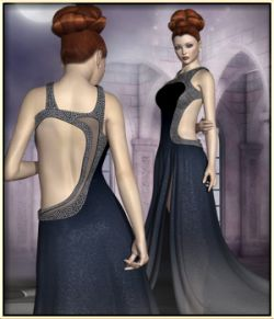 Faxhion- Glamorous Evening Gown