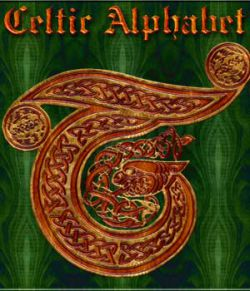Harvest Moons Celtic Alphabet