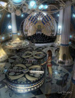 Atlantida Temple Props