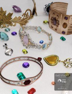 Metal and Gemstones