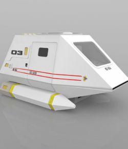 Shuttle Model XV (for Poser)