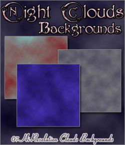 Night Clouds Backgrounds