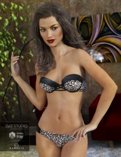 Bandeau Bikini for Genesis 3 Female(s)