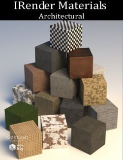 IRender Materials: Architectural