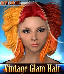 Vintage Glam Hair - NEW COLORS