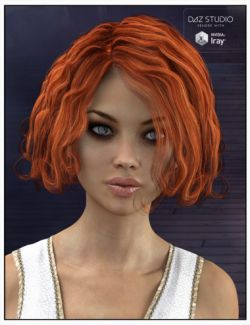 Icie Hair for Genesis 2 and 3 Female(s) and Victoria 4