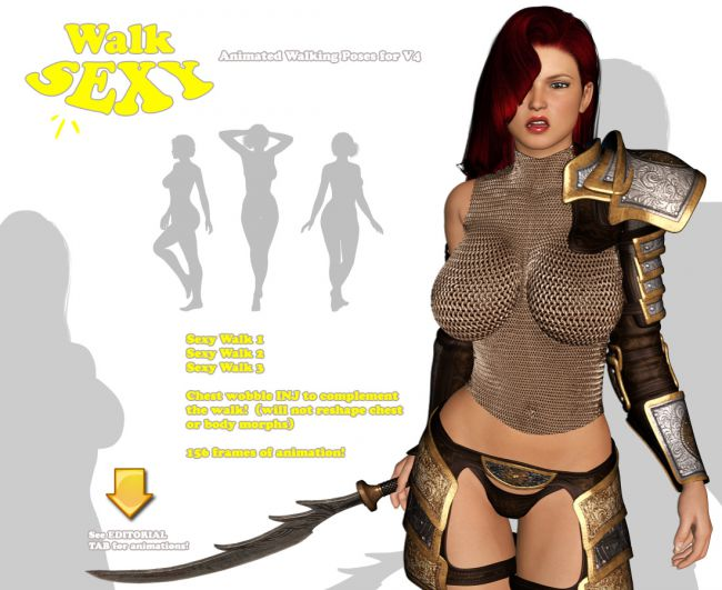 How to walk sexy