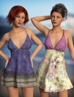 Sun Dress Textures