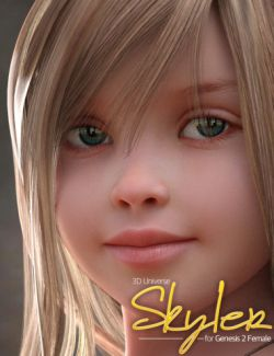 Skyler Character and Hair for Genesis 2 Female(s)