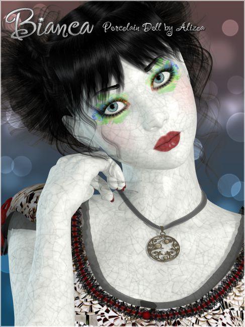 A3D Bianca Porcelain Doll for V4/A4