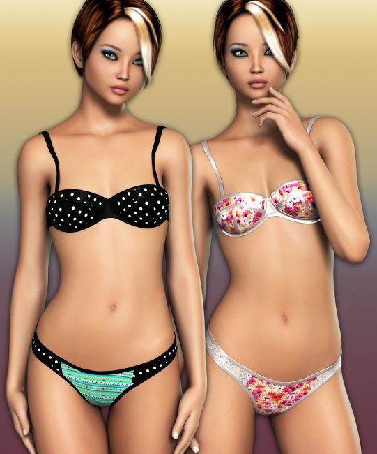 LUST - Neon Bikini Swimsuit for G2