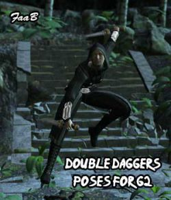 Double Daggers Poses for G2