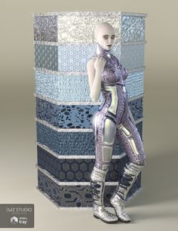 Alien Metals- Iray Shaders for DAZ Studio