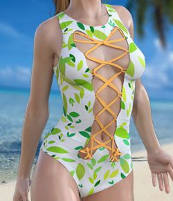 Hot Swimsuit for Genesis 2 Female(s)