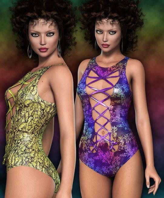 NYC Couture: Hot Swim Suit Genesis 2 Female