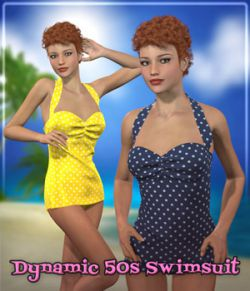 Dynamic 50s Swimsuit