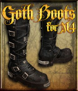 Goth Boots for M4