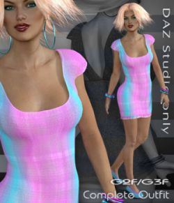 G2F/G3F Dateline 3 - DAZ Studio Only