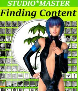STUDIO*MASTER: Finding Installed Content in DAZ Studio 4.8