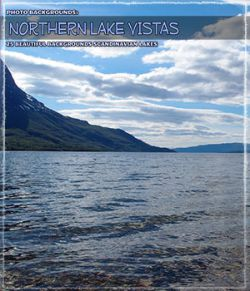 Photo Backgrounds: Northern Lake Vistas