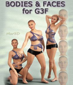 BODIES and FACES - For Genesis 3 Female(s)